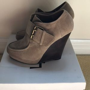 Forever21 wedge booties